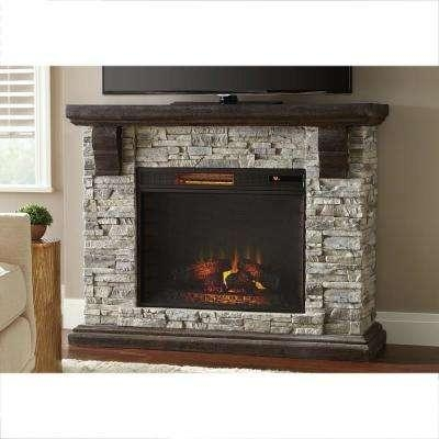 Fireplace Tv Stands – Electric Fireplaces – The Home Depot Inside Most Popular 50 Inch Fireplace Tv Stands (Image 15 of 20)
