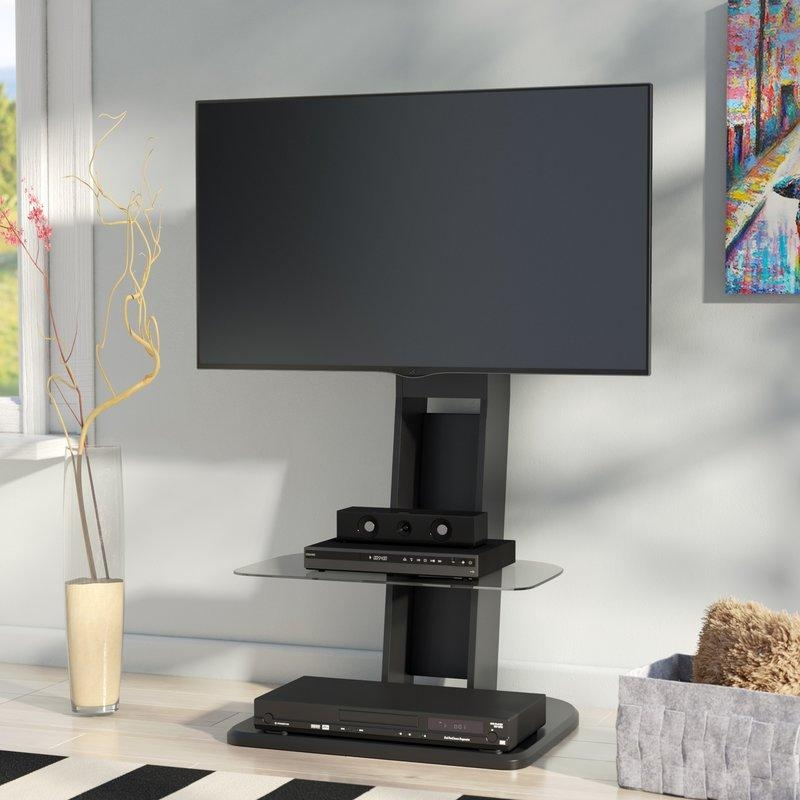 Flat Panel Mount Tv Stands You'll Love | Wayfair In Most Popular Tv Stands For 43 Inch Tv (Image 10 of 20)