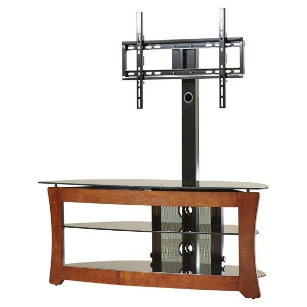 Flat Panel Mount Tv Stands You'll Love | Wayfair Inside 2018 Easel Tv Stands For Flat Screens (Image 9 of 20)