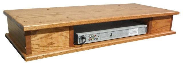 Flat Screen Oak Tv Riser With Drawers – Transitional Pertaining To Most Recent Oak Tv Stands For Flat Screens (Image 4 of 20)