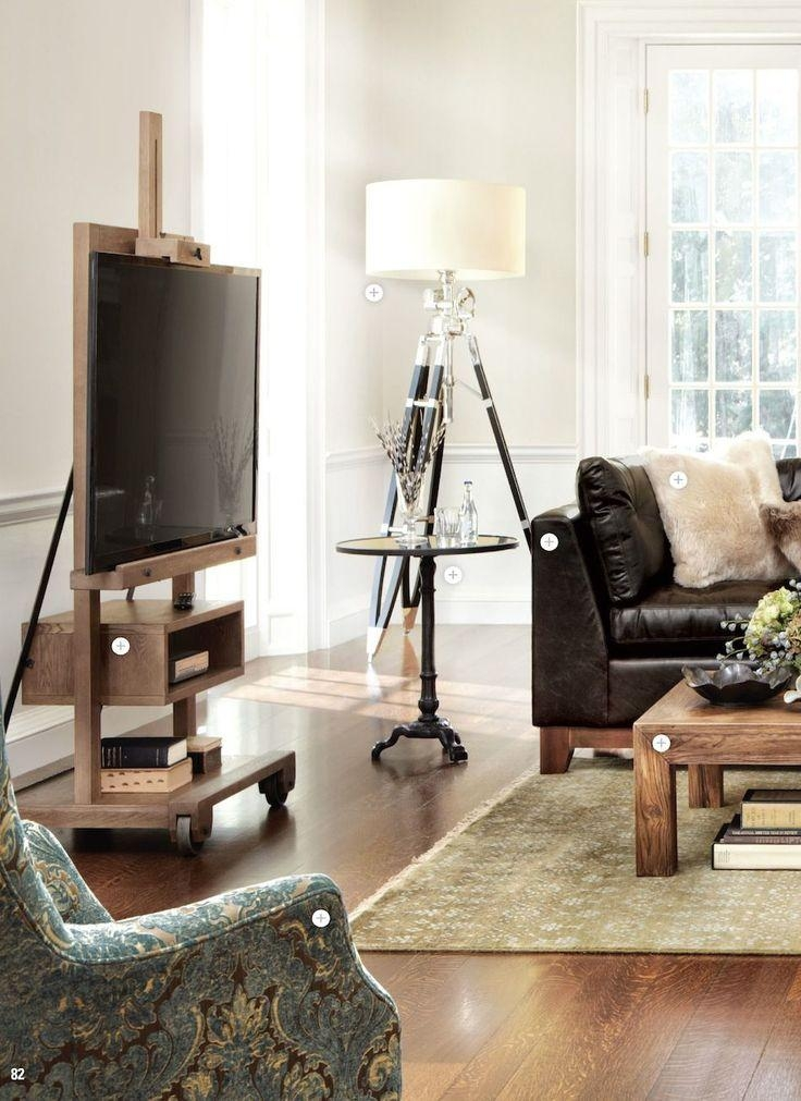 Flat Screen Tv Easel … | Pinteres… For Latest Easel Tv Stands For Flat Screens (Image 12 of 20)