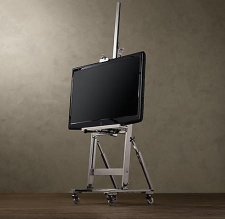 Flat Screen Tv Floor Stand – Foter Throughout Most Popular Easel Tv Stands For Flat Screens (Image 13 of 20)