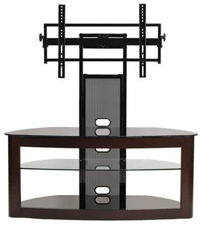 Flat Screen Tv Stand With Mount: Television Stand Guide For Newest Bracketed Tv Stands (Image 15 of 20)