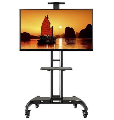 Flat Screen Tv Stand With Mount: Television Stand Guide Regarding Current Bracketed Tv Stands (Image 16 of 20)