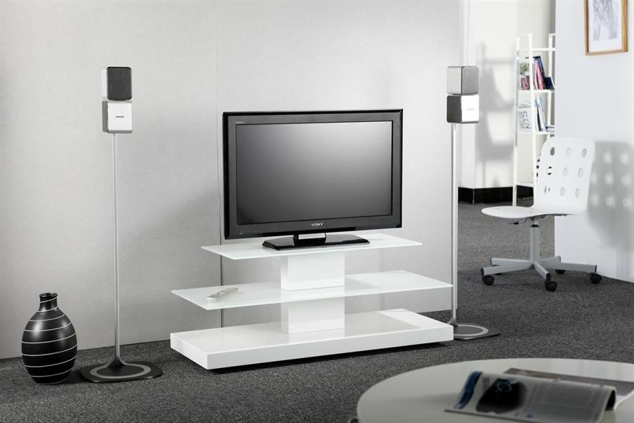 Flat Screen Tv Stands White : Flat Screen Tv Stands For Living Within Current White Tv Stands For Flat Screens (Image 6 of 20)