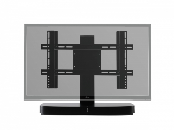 Flexson Adjustable Tv Stand For Sonos Playbase | Smart Home Sounds For Most Popular Sonos Tv Stands (View 15 of 20)
