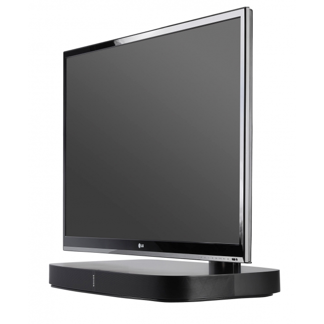 Flexson Flxpbtvst1011 Adjustable Tv Stand For Sonos Playbase Home In Best And Newest Sonos Tv Stands (View 20 of 20)