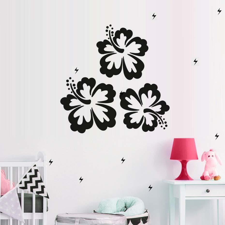 Flip Flop Life With Hibiscus Flowers Decal All About Flip Flops For Flip Flop Wall Art (Image 11 of 20)