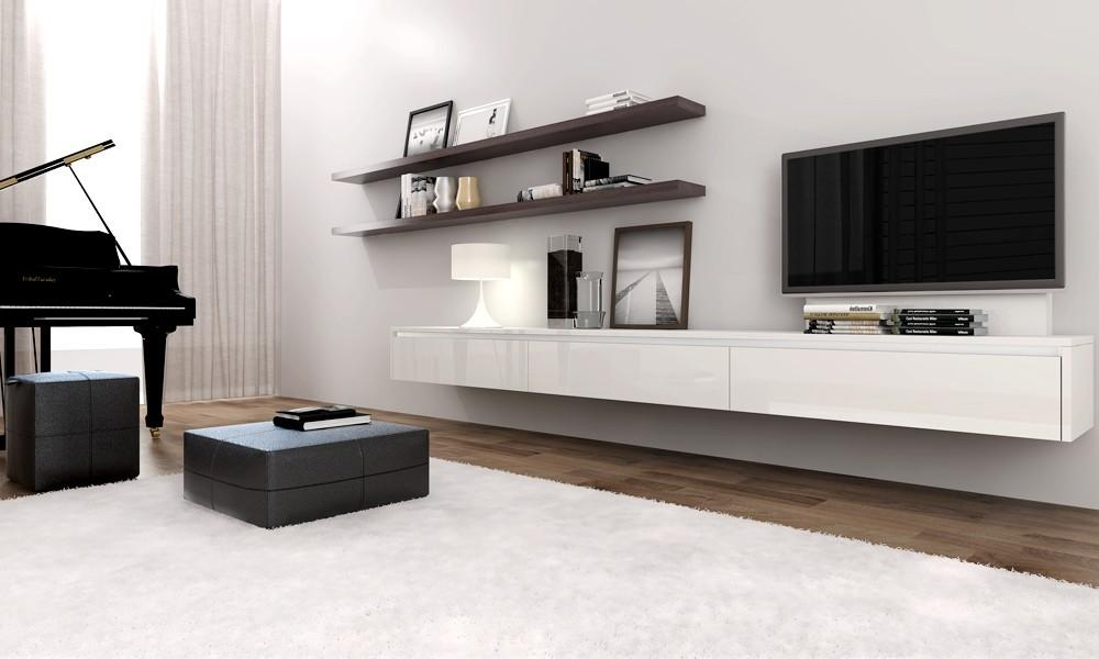 Floating Tv Cabinet Ikea | Roselawnlutheran With 2018 Wall Mounted Tv Cabinet Ikea (View 15 of 20)
