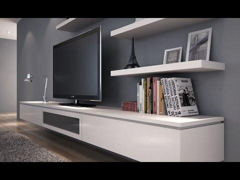 Floating Tv Stand Diy – Youtube In Most Recent Floating Tv Cabinet (Image 12 of 20)
