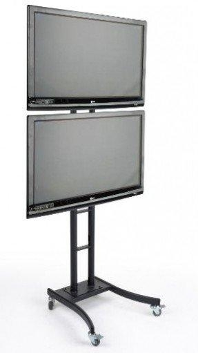 Floor Stand For Flat Screen Tv – Foter Pertaining To Recent Dual Tv Stands (View 6 of 20)