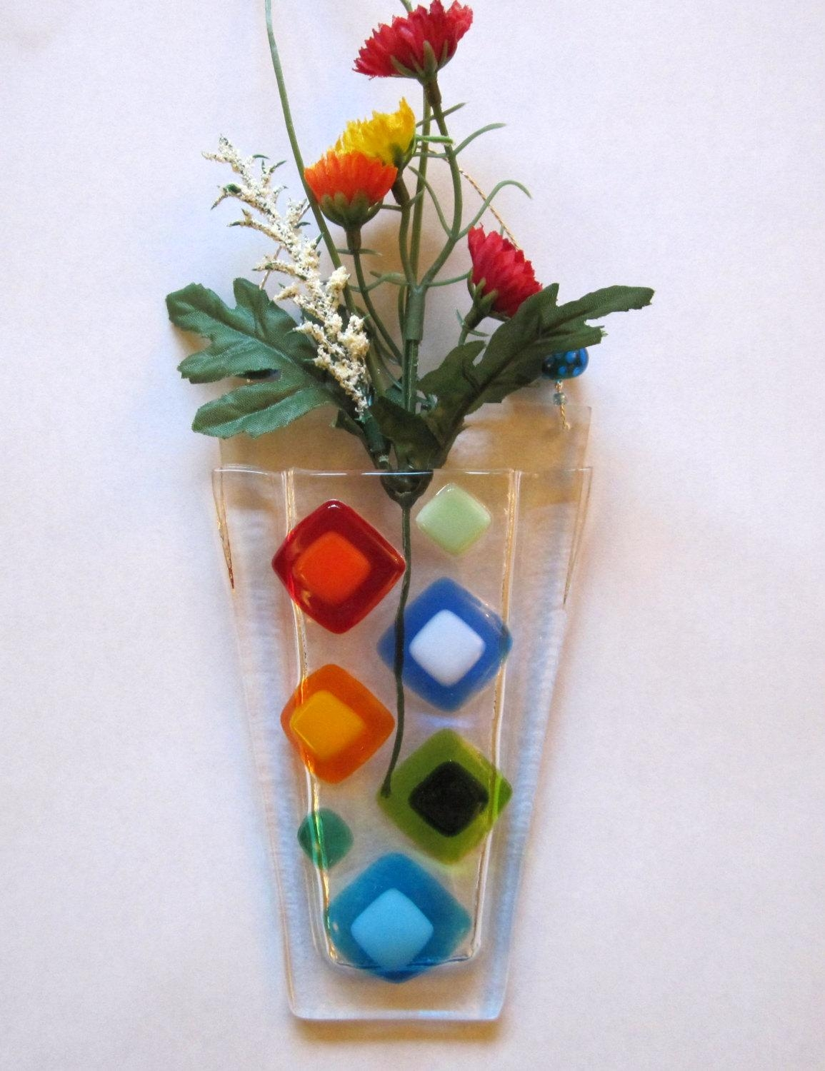 Flower Pocket, Glass Fusing Class, Introduction Art Classes, The With Regard To Fused Glass Flower Wall Art (View 20 of 20)