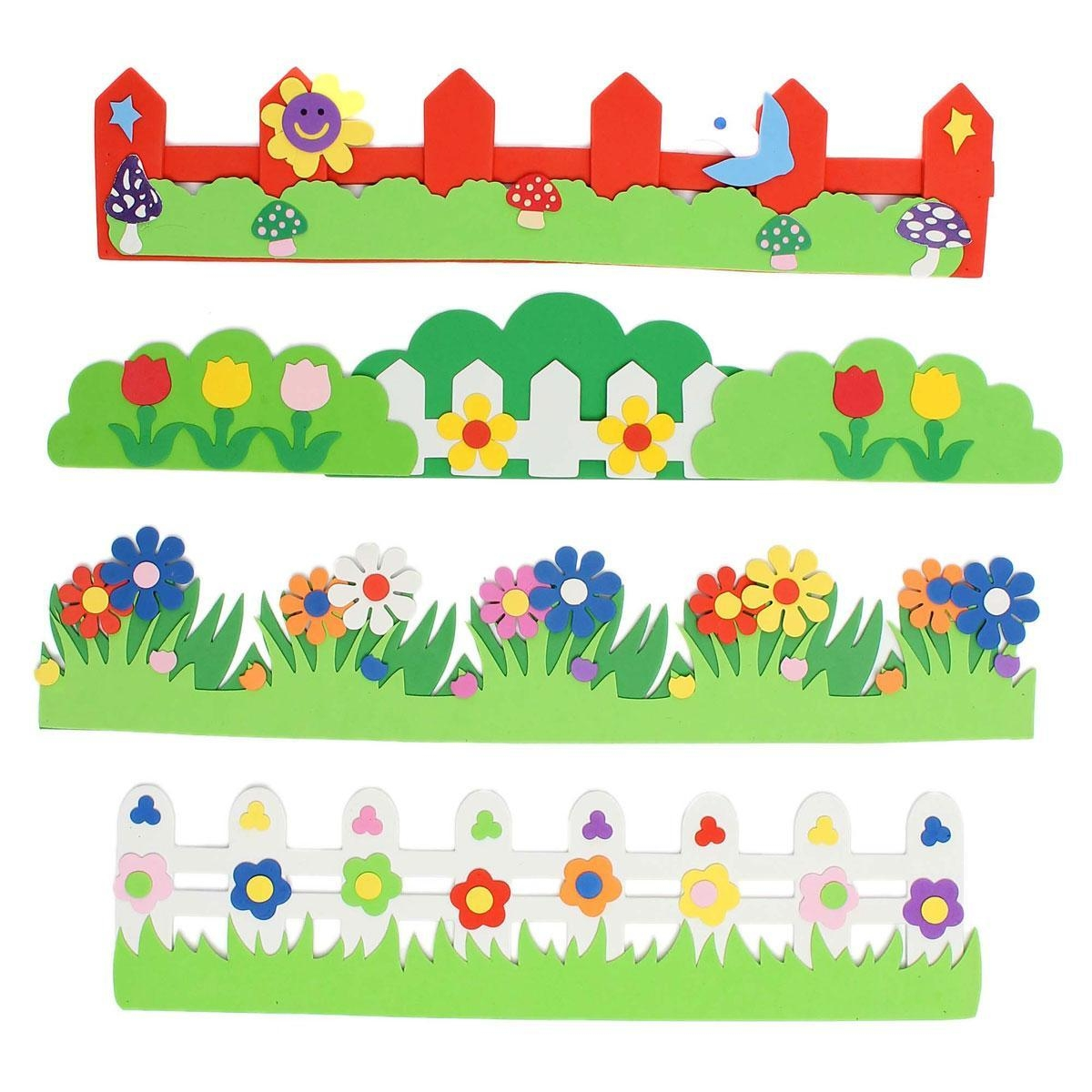 Foam Fence Kindergarten Classroom Playground Decorative Supplies With Regard To Wall Art For Kindergarten Classroom (Image 12 of 20)