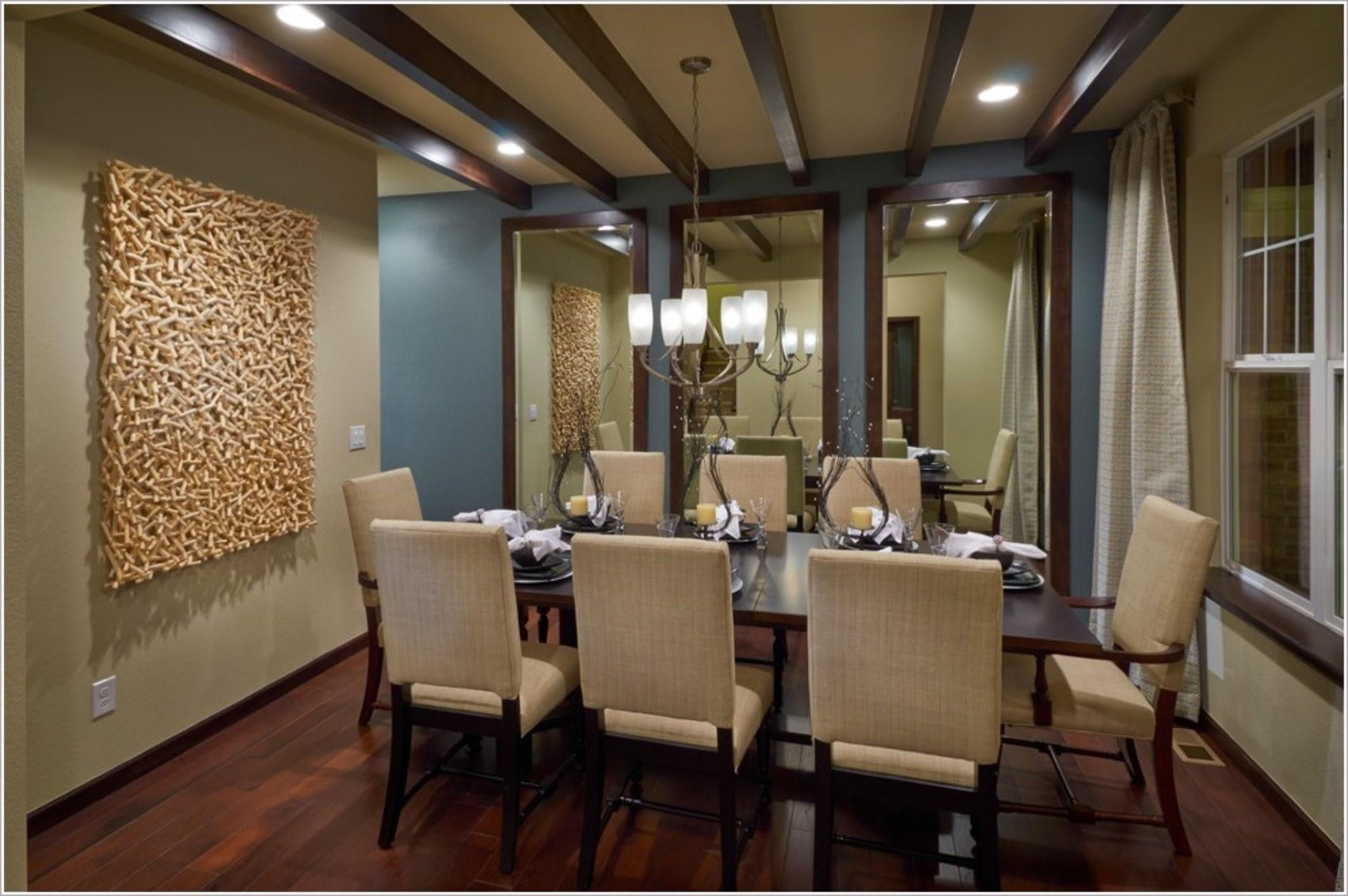 Formal Dining Room Drapes With Modern Chandeliers And Wall Regarding Formal Dining Room Wall Art (View 15 of 20)