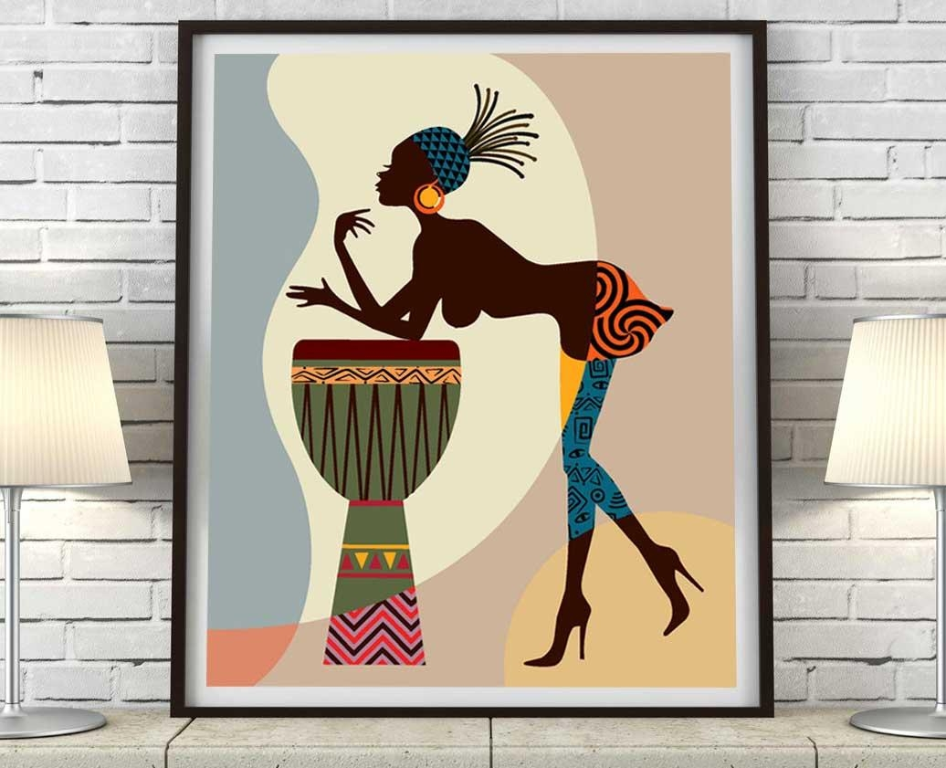 Framed African American Wall Art And Decor | Home Interior & Exterior For Framed African American Wall Art (View 11 of 20)