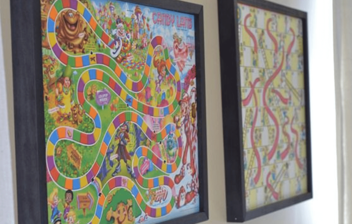 Framed Board Games May Be The Best Game Storage Idea Out There Regarding Board Game Wall Art (Image 11 of 20)