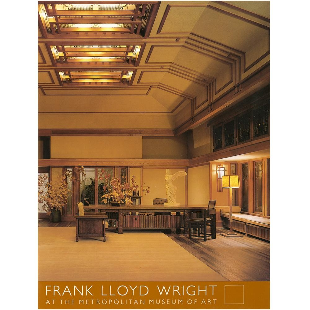Frank Lloyd Wright At The Metropolitan Museum Of Art – The Met Store Regarding Frank Lloyd Wright Wall Art (View 9 of 20)
