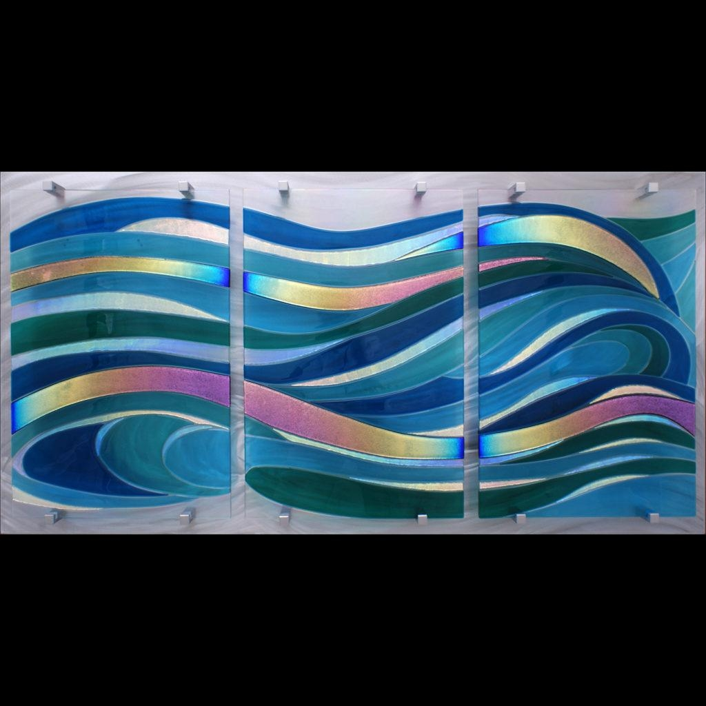 Frank Thompson | Red River Revel Arts Festival Throughout Fused Glass Wall Art By Frank Thompson (View 8 of 20)