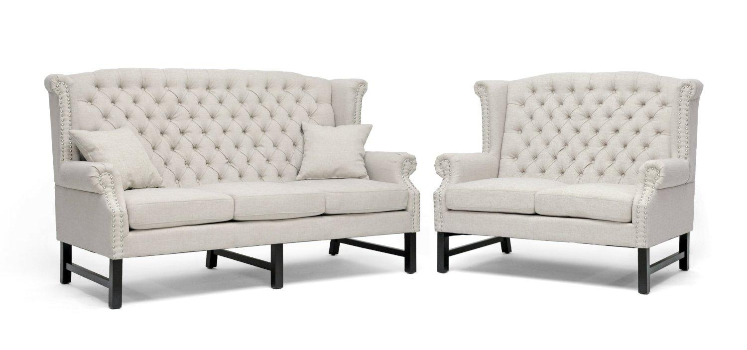Fresh Dallas White Tufted Sofa Bed #25717 Inside Cheap Tufted Sofas (Image 3 of 23)