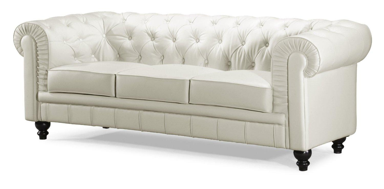 Fresh Perfect White Tufted Sofa #25715 In Cheap Tufted Sofas (Image 4 of 23)