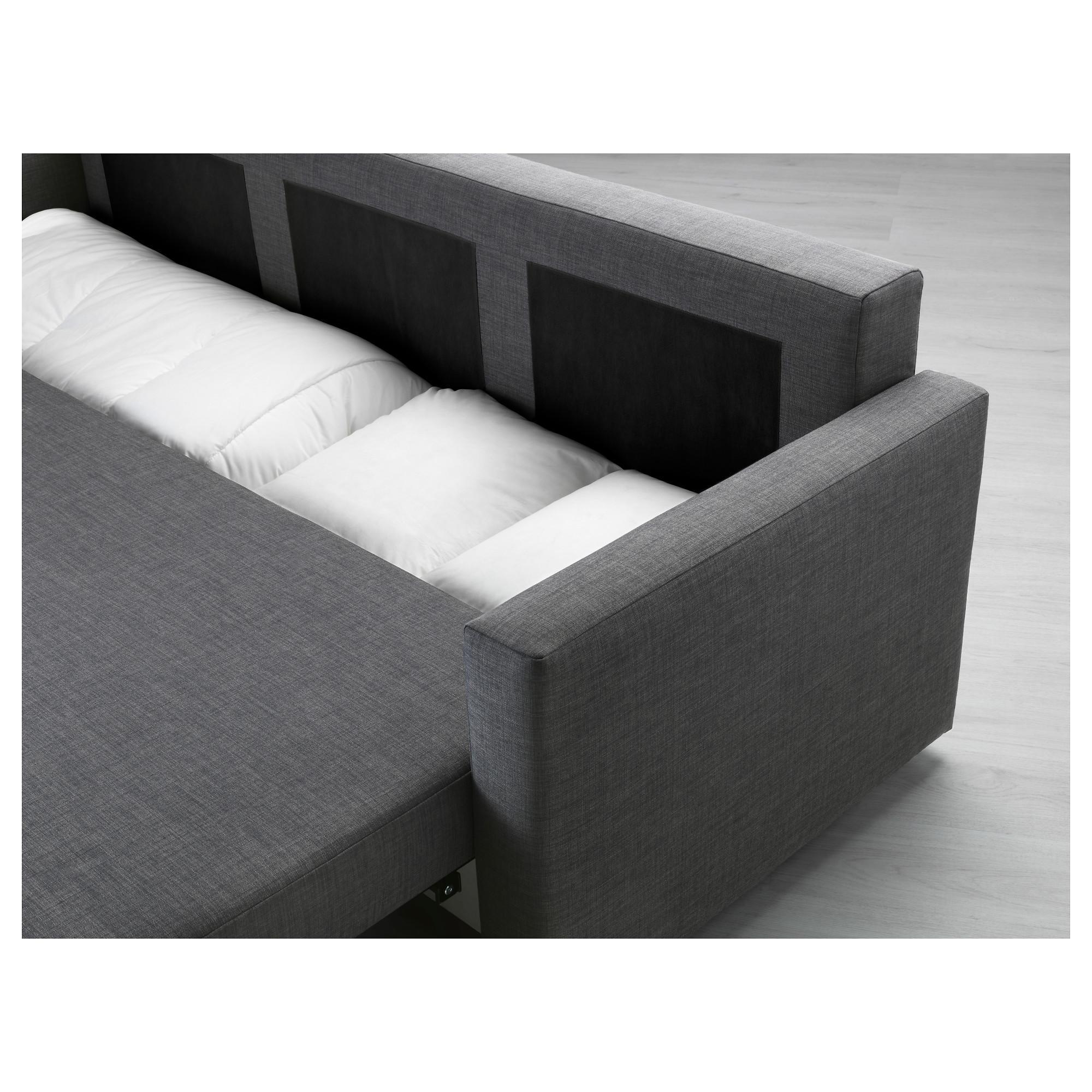 Friheten Sleeper Sofa – Skiftebo Brown – Ikea With Cushion Sofa Beds (View 9 of 23)