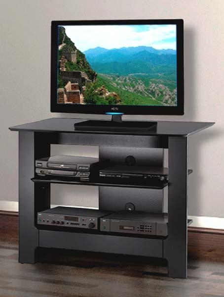 From Modern Black And Glass To Traditional Wood Tv Stands At With 2017 Nexera Tv Stands (View 8 of 20)