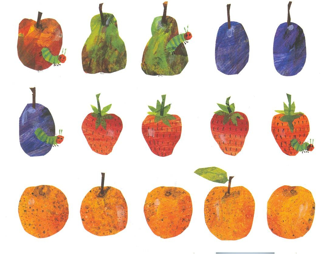 Fruit Postcard | The Eric Carle Museum Of Picture Book Art With Eric Carle Wall Art (Image 11 of 20)