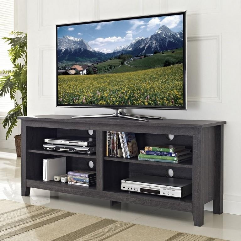 Furniture : 24 Inch Tv Stand Tv Console Cabinets For Flat Screen Pertaining To Latest 24 Inch Led Tv Stands (Image 8 of 20)