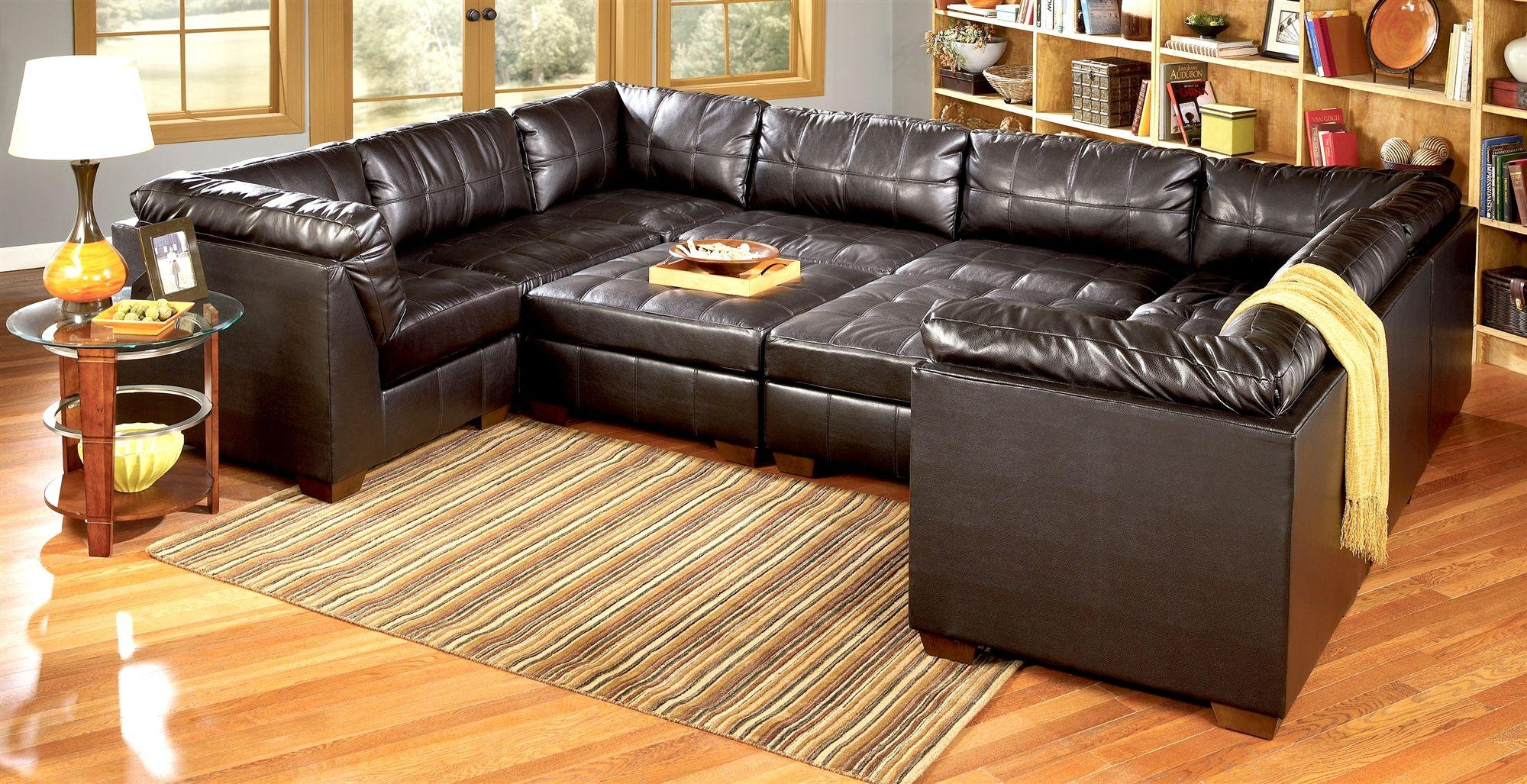 Furniture: 3 Piece Sectional Sofas And Pit Sectional For Gorgeous Throughout Pit Sofas (Image 5 of 20)
