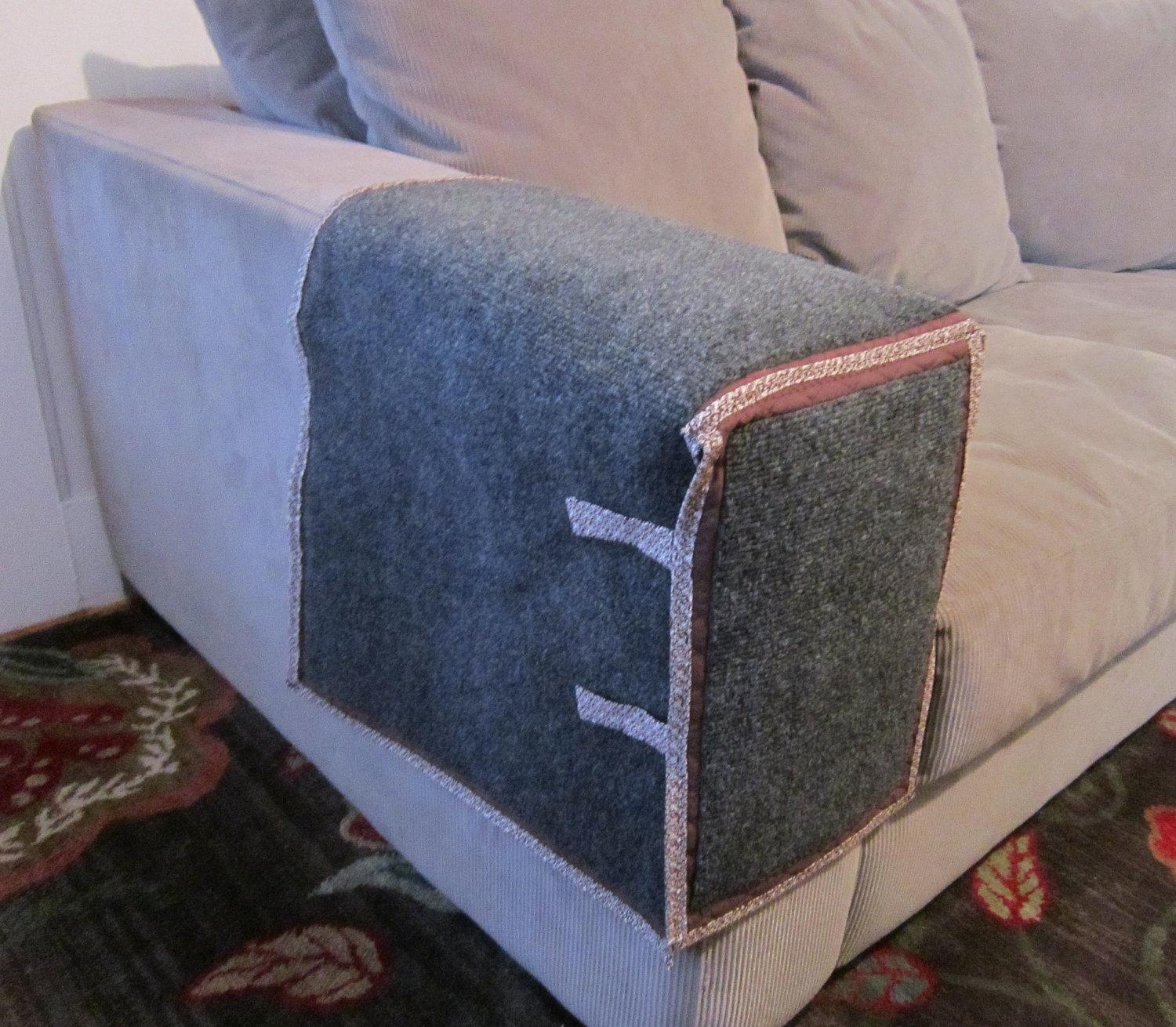 Furniture: Armchair Protectors | Couch Sleeve Covers | Sofa Throughout Arm Covers For Sofas (View 5 of 21)