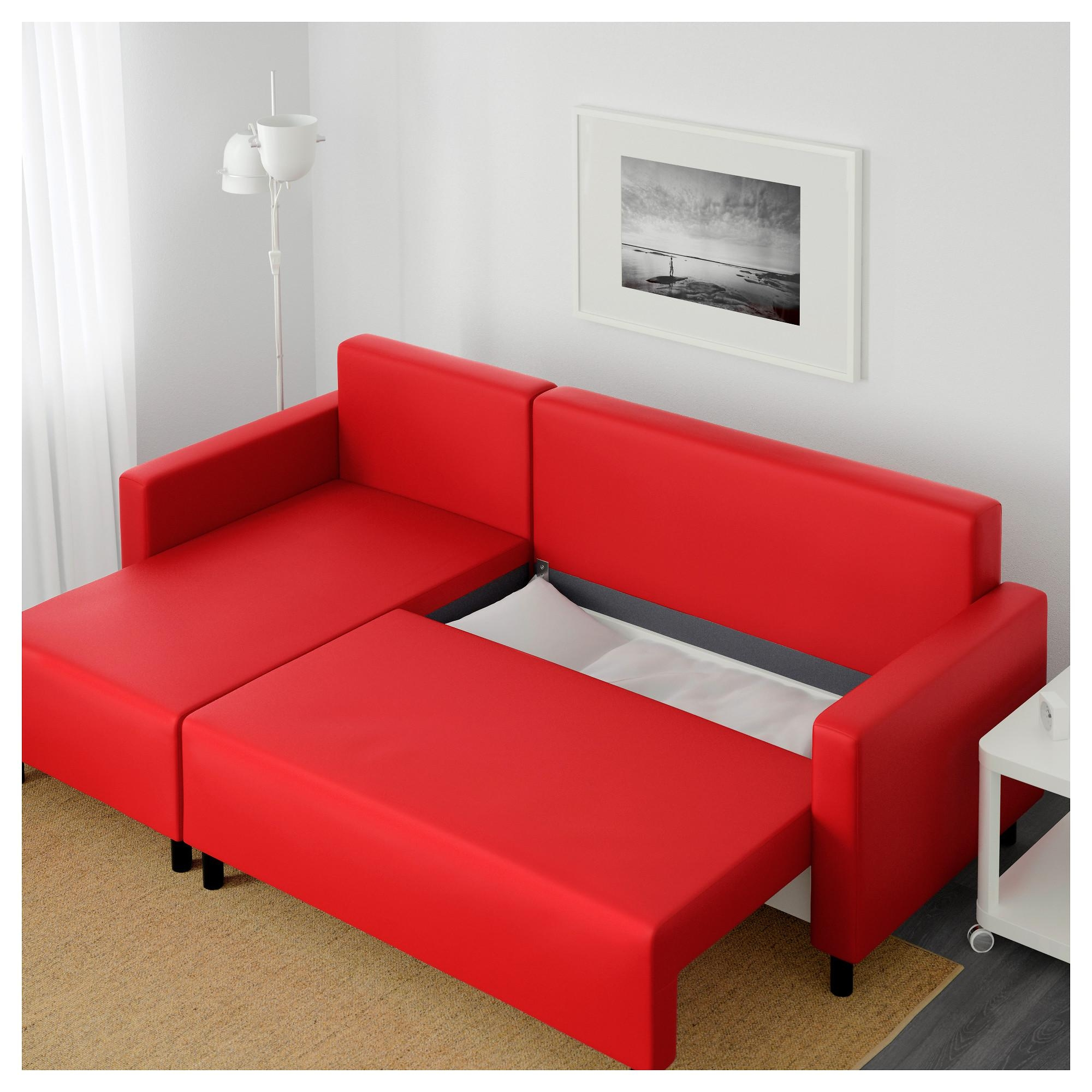 Furniture: Balkarp Sofa Bed | Sleeper Chair Ikea | Full Size Inside Red Sofa Beds Ikea (Image 10 of 20)