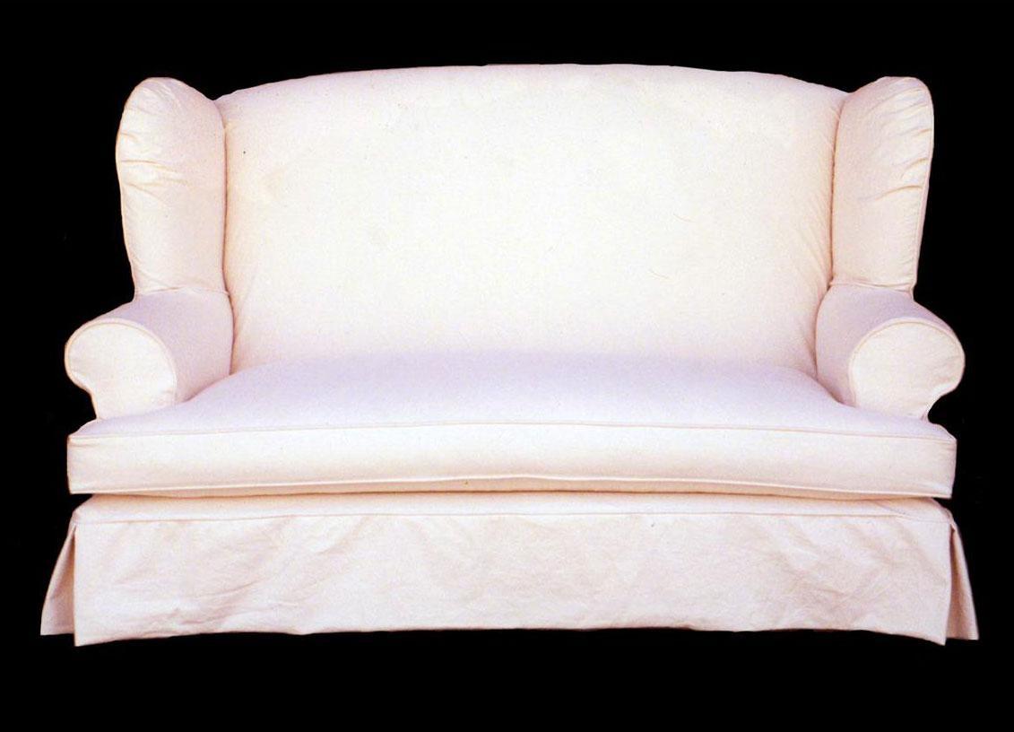 25 photos sofa loveseat slipcovers sofa ideas for Black furniture slipcovers