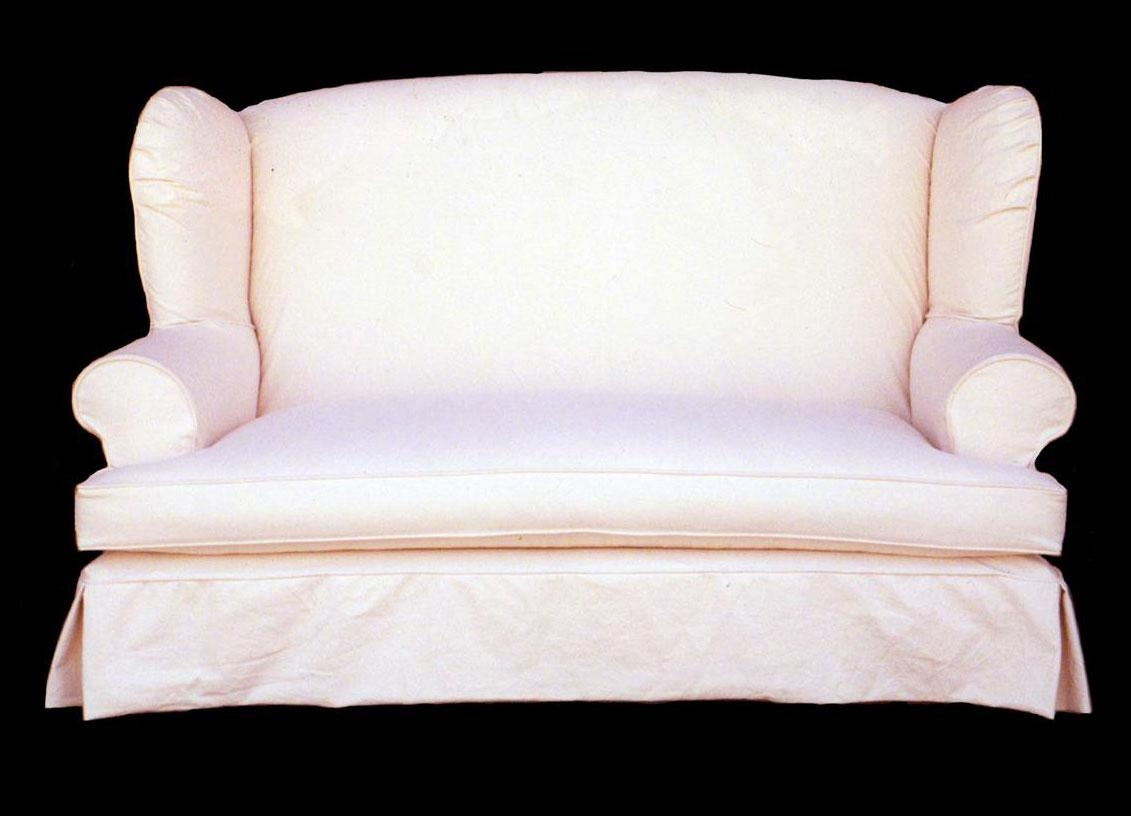 Furniture: Black Couch Covers   Slipcovers For Loveseats Throughout Sofa Loveseat Slipcovers (Image 8 of 25)
