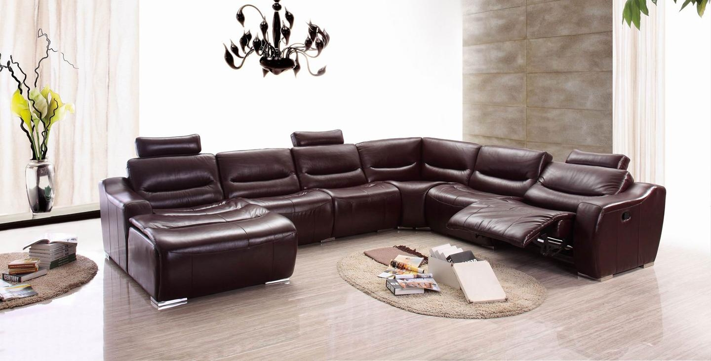 Furniture : Black Leather Recliner Oversized Recliner Lane With Sectional Sofa Recliners (Image 5 of 20)