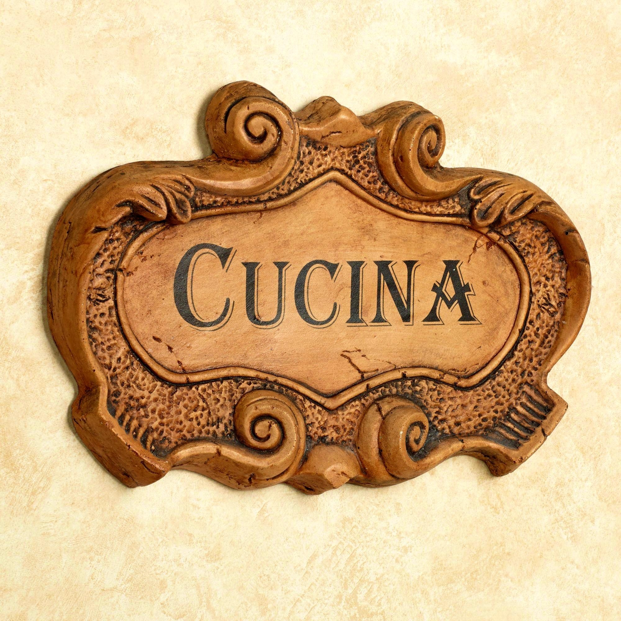 Furniture : Charming Kitchen Rules Wall Plaque Funny Sign Decor Intended For Italian Plaques Wall Art (Image 4 of 20)
