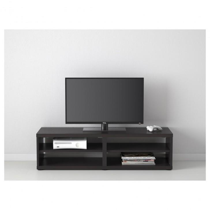Furniture : Contemporary Ideas Of Ikea Besta Tv Stand Brings Cool Pertaining To Most Popular Long Black Tv Stands (Image 8 of 20)