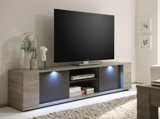 """Furniture: Contemporary Tv Stand 70"""" Entertainment Media Center In Current Modern Contemporary Tv Stands (View 14 of 20)"""