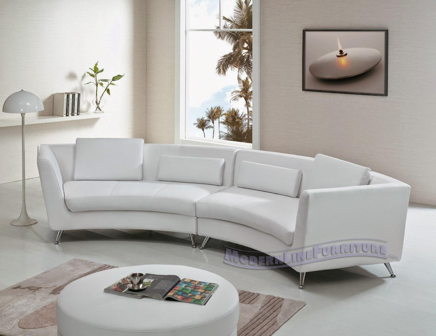 Furniture: Curved Sectional Sofa | Curved Back Sofas | Curved With Oval Sofas (Image 6 of 21)