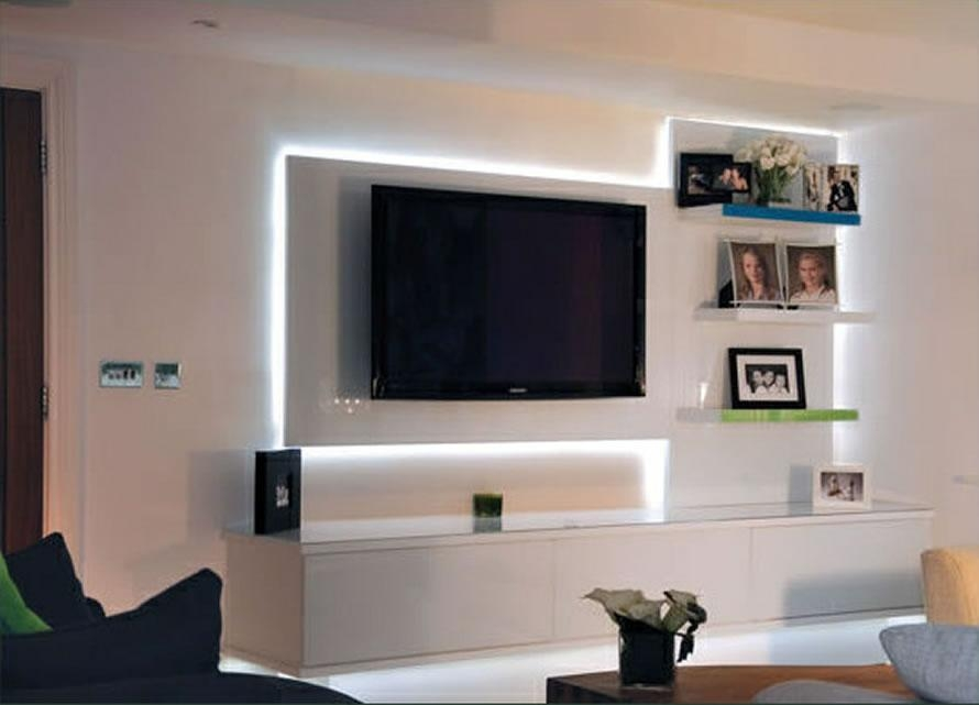 Furniture Design For Tv Cabinet Amusing Inside Best And Newest Led Tv Cabinets (Image 9 of 20)