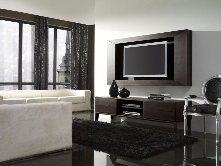 Furniture: Fancy Modern Living Room Decoration Using Modern Solid Intended For Current Fancy Tv Cabinets (Image 11 of 20)