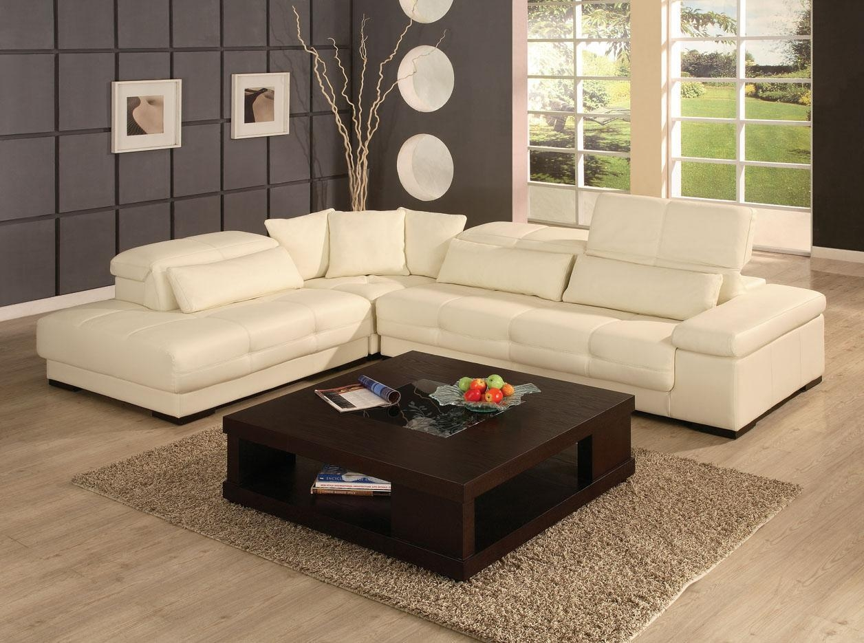 Furniture: Find The Perfect Leather Sectionals For Sale For Cream Sectional Leather Sofas (View 8 of 22)