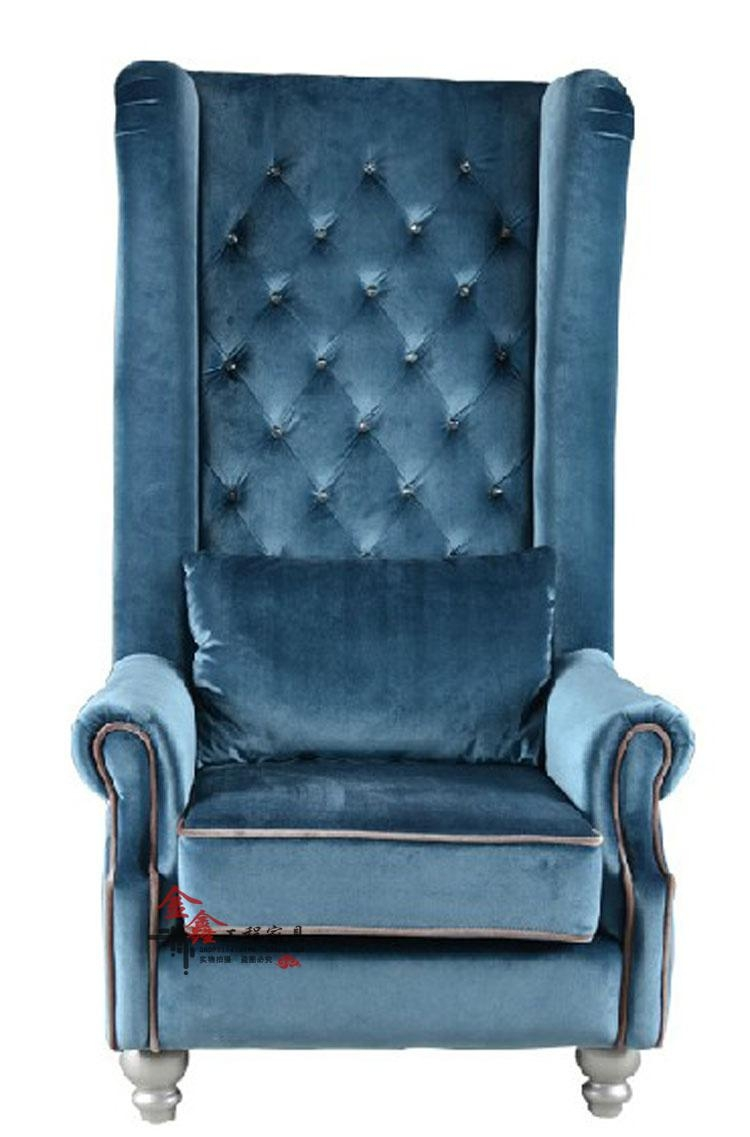 Furniture Home: Neoclassical High Back Chair Sofa Chair Lounge Throughout Chair Sofas (Image 11 of 22)