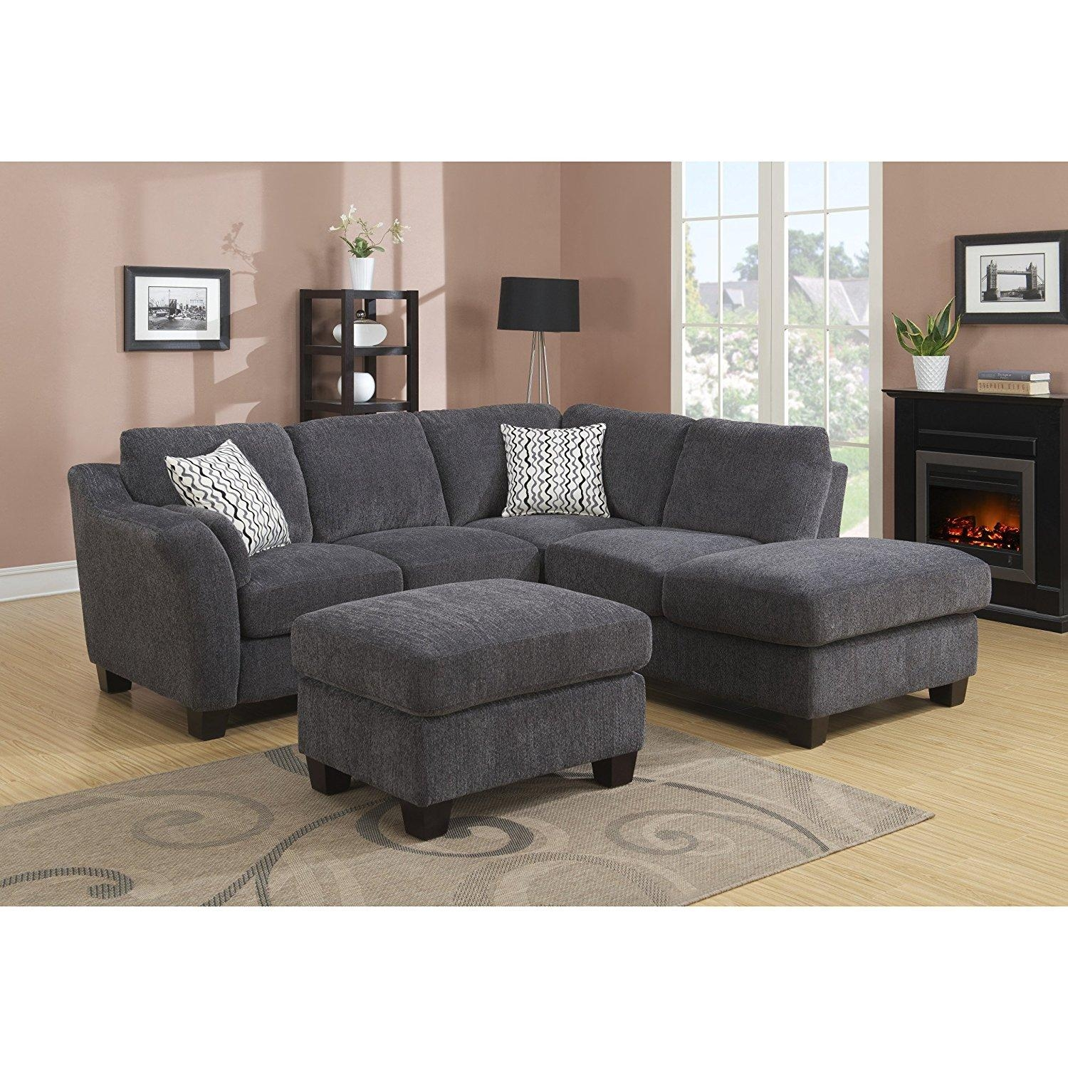 Furniture: Leather Grey Sectional Costco With Gray Rug And Wall Inside Costco Wall Art (Image 12 of 20)