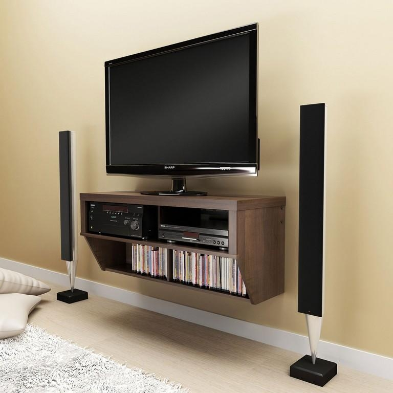 Furniture : Living Room Tv Unit Designs Slim Tv Stand With Mount Inside Latest Baby Proof Contemporary Tv Cabinets (View 10 of 20)