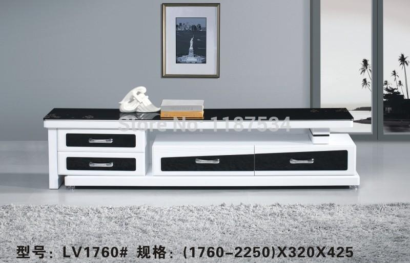 Furniture Mirror Picture – More Detailed Picture About 1760 Within Most Up To Date White And Black Tv Stands (View 7 of 20)
