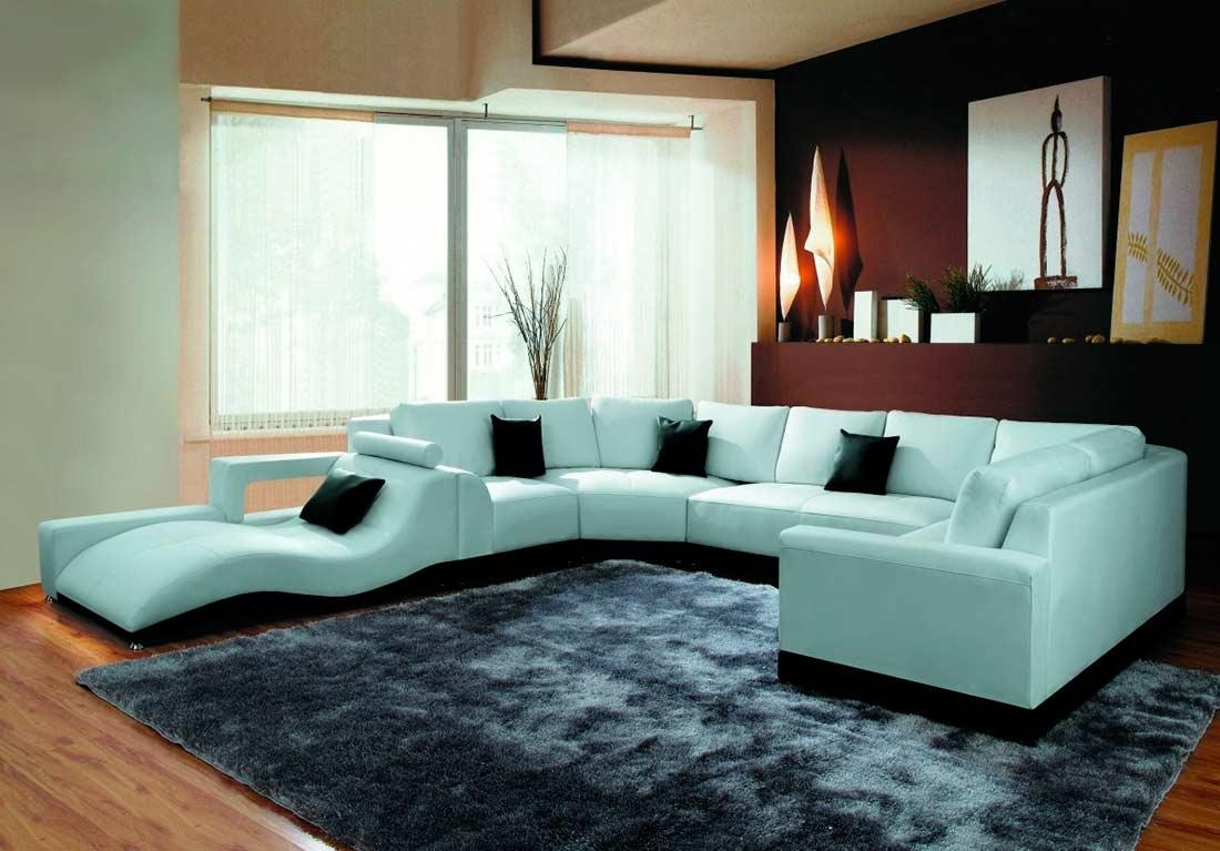 Furniture: Modern And Contemporary Sofa Sectionals For Living Room In Modern Sofas Sectionals (View 13 of 21)
