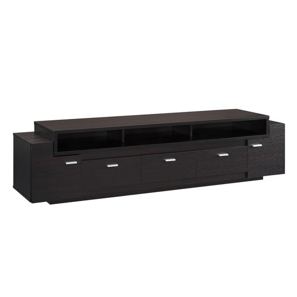 Furniture Of America 84 Inch Peyton Modern Tiered Tv Stand – Free In Most Recently Released 84 Inch Tv Stand (Image 10 of 20)