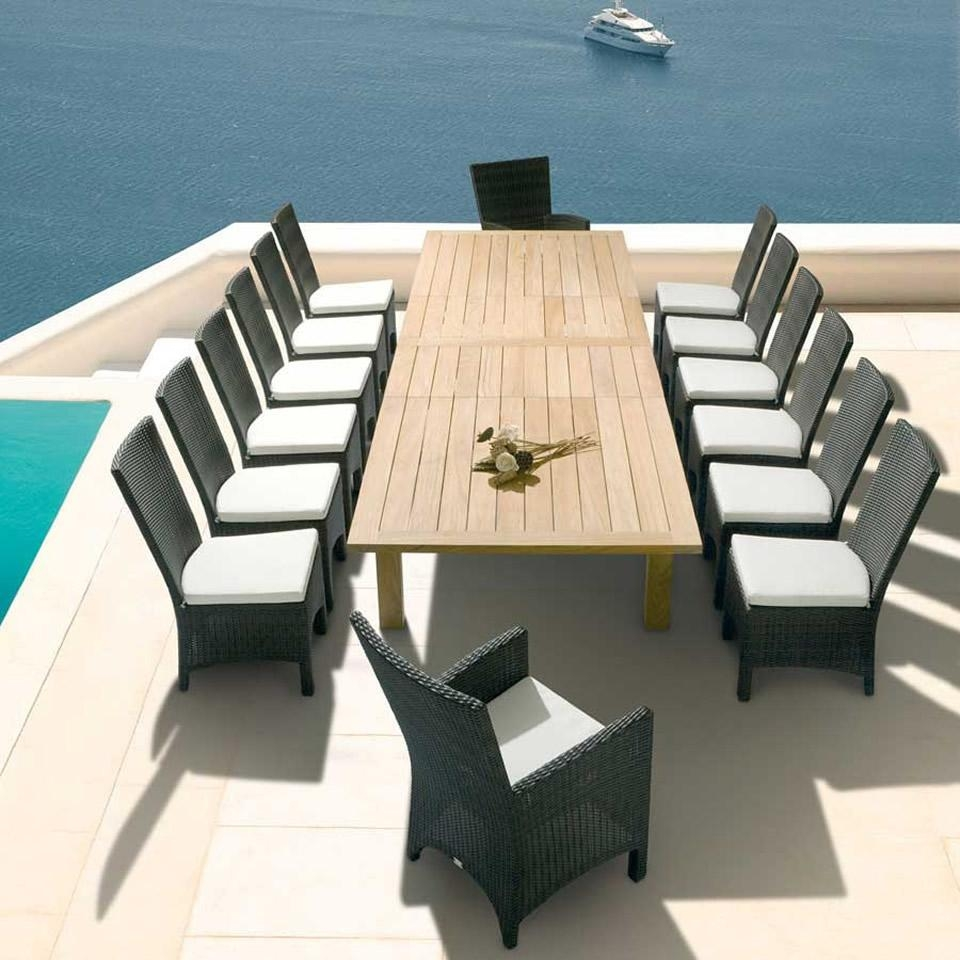 Furniture : Outside Furniture Pool Furniture Outdoor Furniture Pertaining To Modern Rattan Sofas (Image 9 of 23)