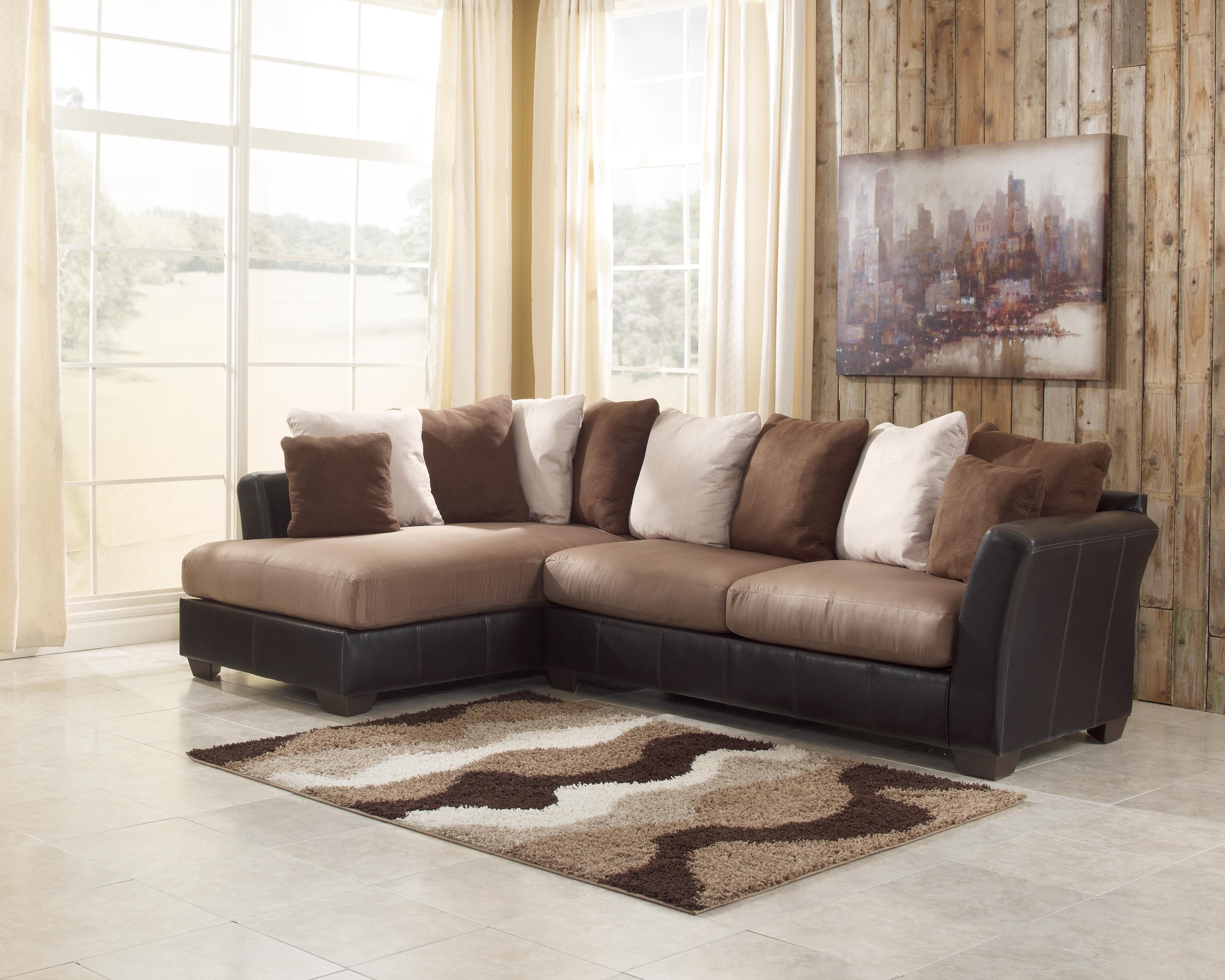 Furniture: Oversized Sectional Sofa | Jessa Place 3 Piece Intended For Small 2 Piece Sectional Sofas (Image 7 of 23)