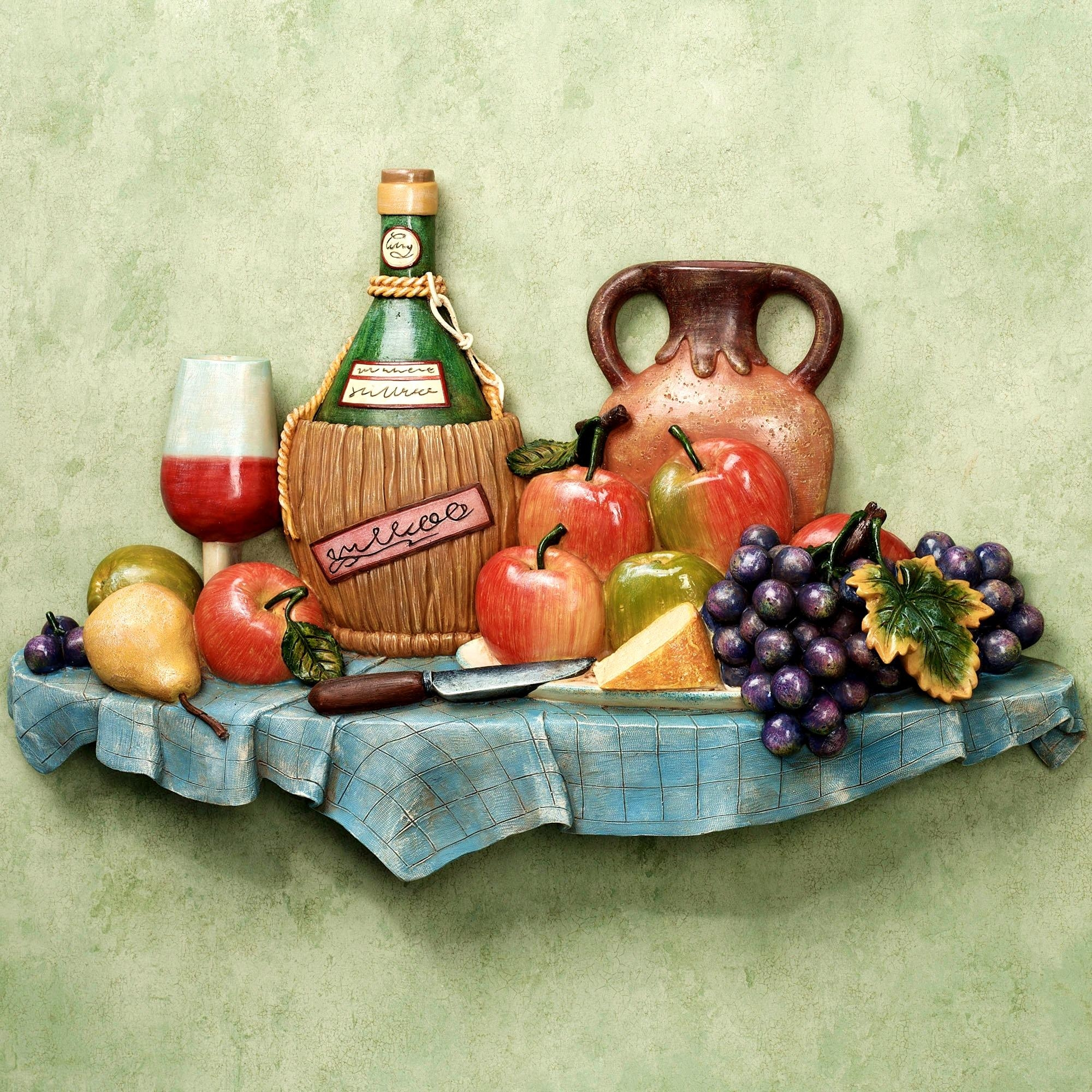 Kitchen Decoration Things: 20 Collection Of Italian Themed Kitchen Wall Art